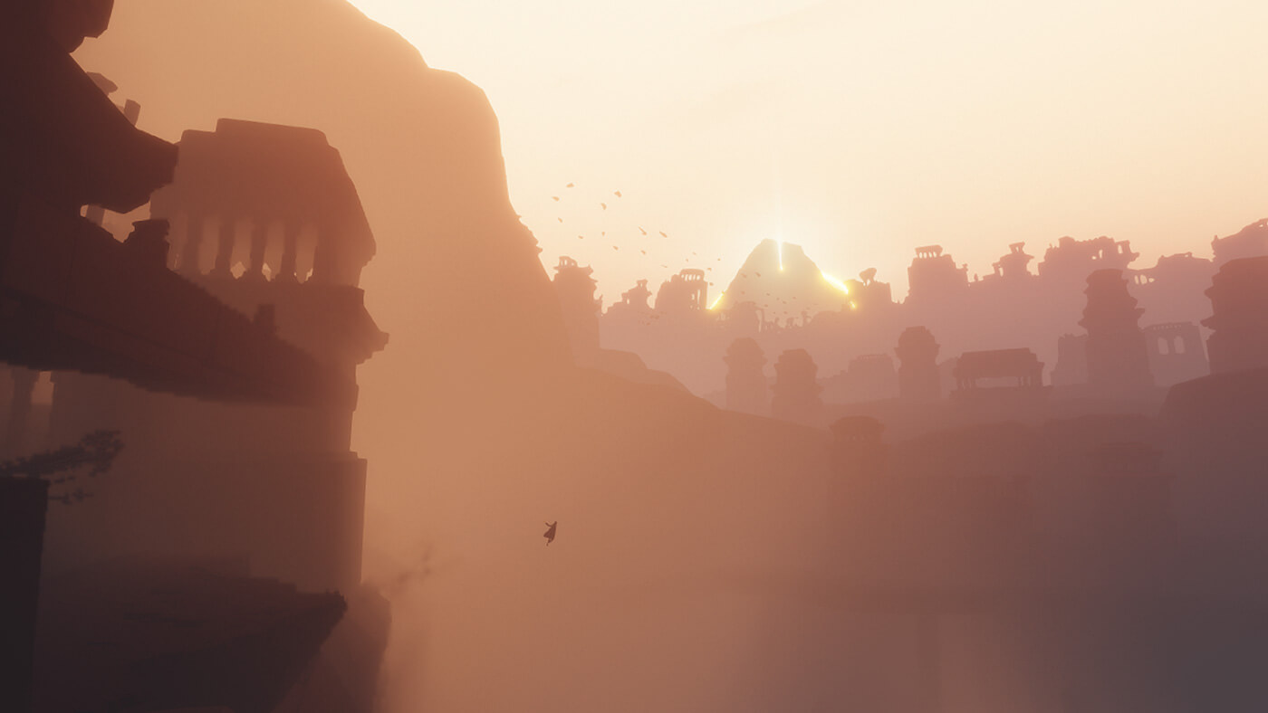 The landscapes and textures make the game a delightfully tingling experience for the senses | Journey | thatgamecompany | STIRworld