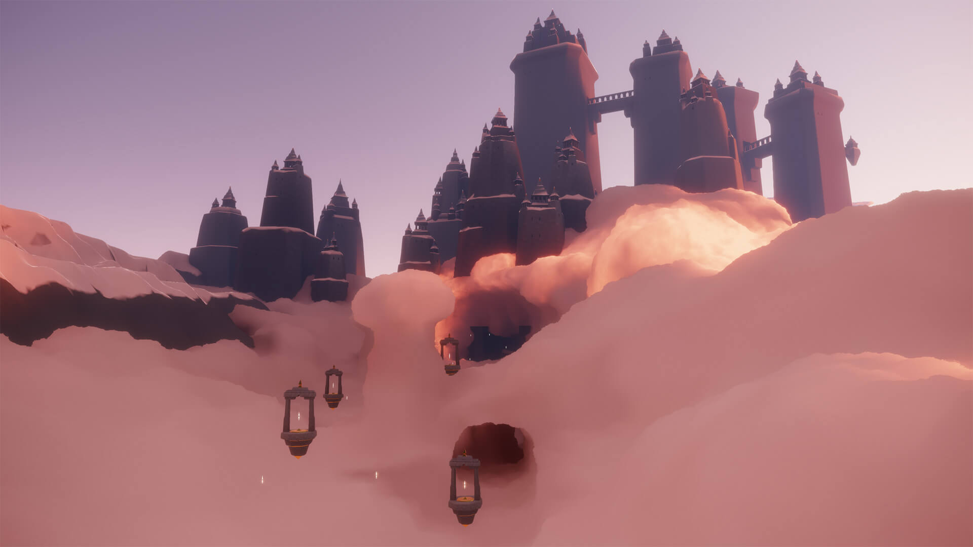 A surreal landscape from their latest release Sky: Children of the Light | Sky: Children of the Light | thatgamecompany | STIRworld