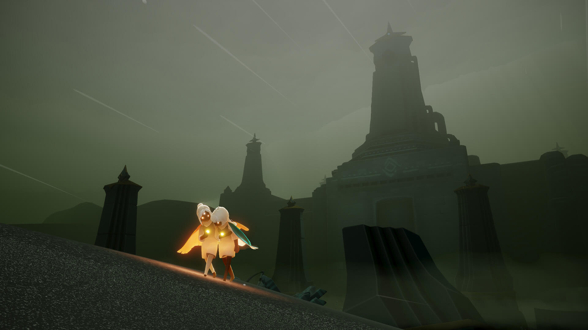 Sky encourages interaction and communication between players | Sky: Children of the Light | thatgamecompany | STIRworld