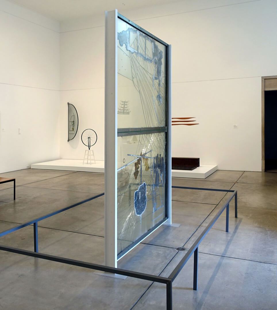 The Large Glass | Marcel Duchamp: The Art of the Possible | STIRworld