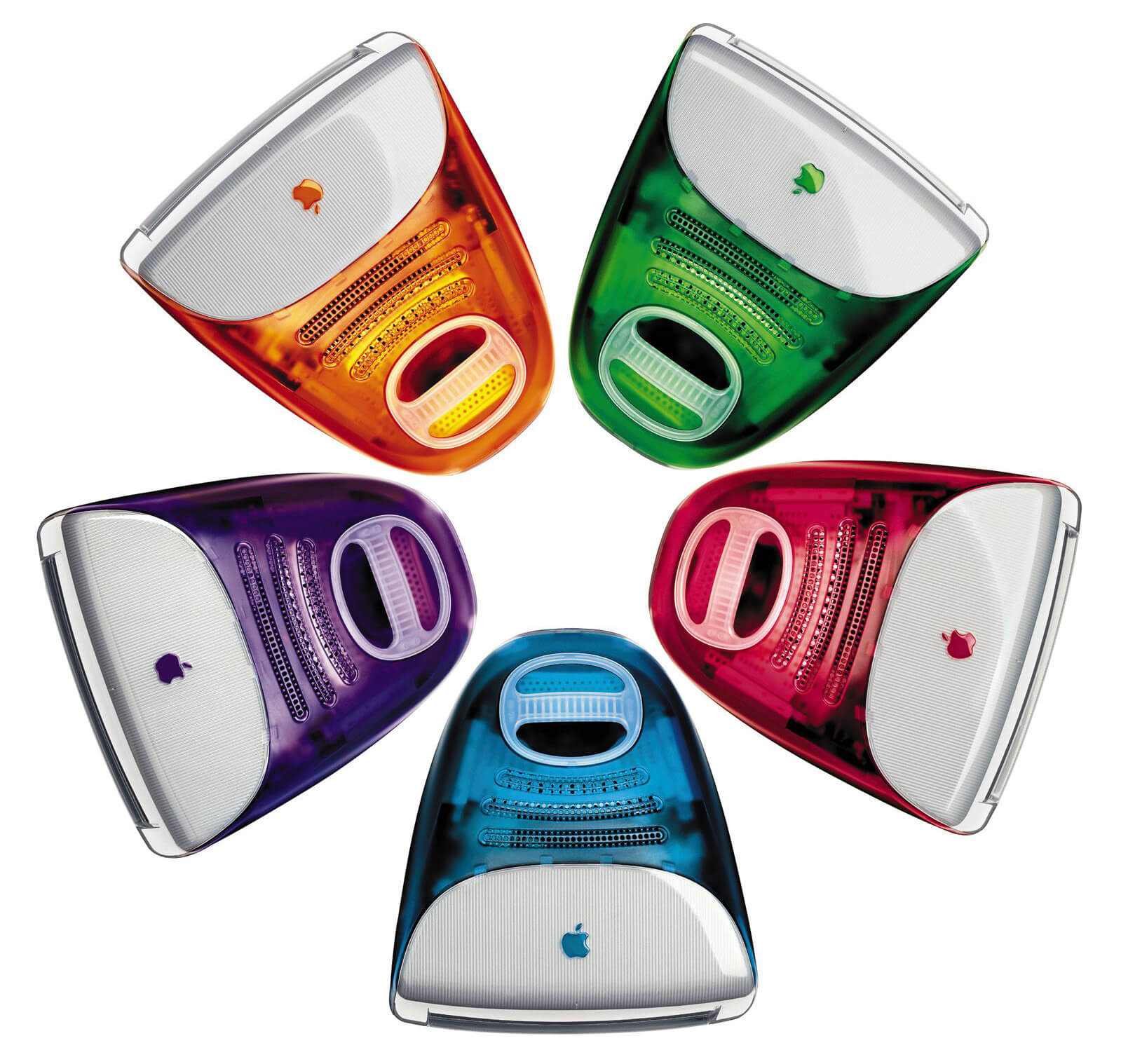 The first iMac G3, with its range of five colours and translucid backpiece, was a bestseller | Digital Legacies | Julius Wiedemann | STIRworld