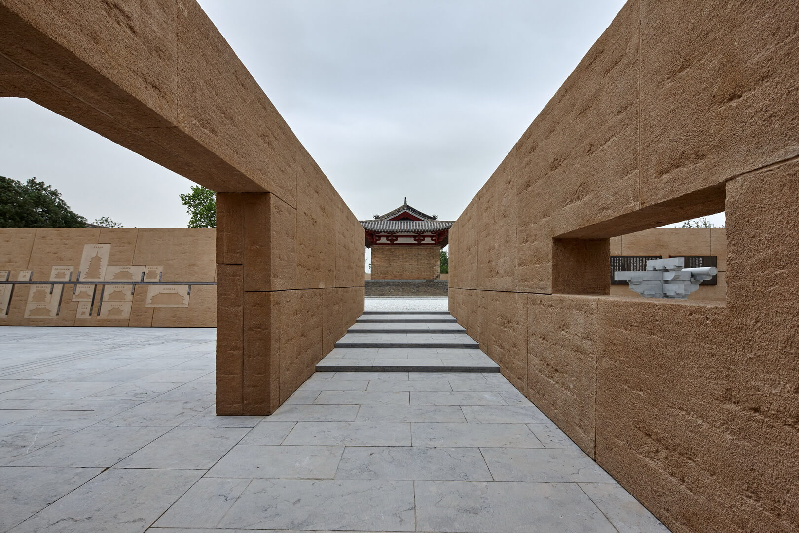 The premise of the Environmental Upgrade of the Five Dragons Temple (2008) is centred around creating layers of overlapping spaces around the main building to tell the story of the temple history and ancient Chinese architecture | Wang Hui | Urbanus | STIRworld