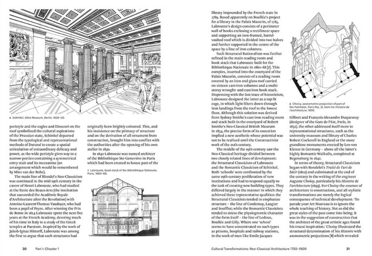 A glimpse of the chapter 'Cultural Transformations: Neo-Classical Architecture 1750-1900' |Modern Architecture: A Critical History by Kenneth Frampton | STIRworld