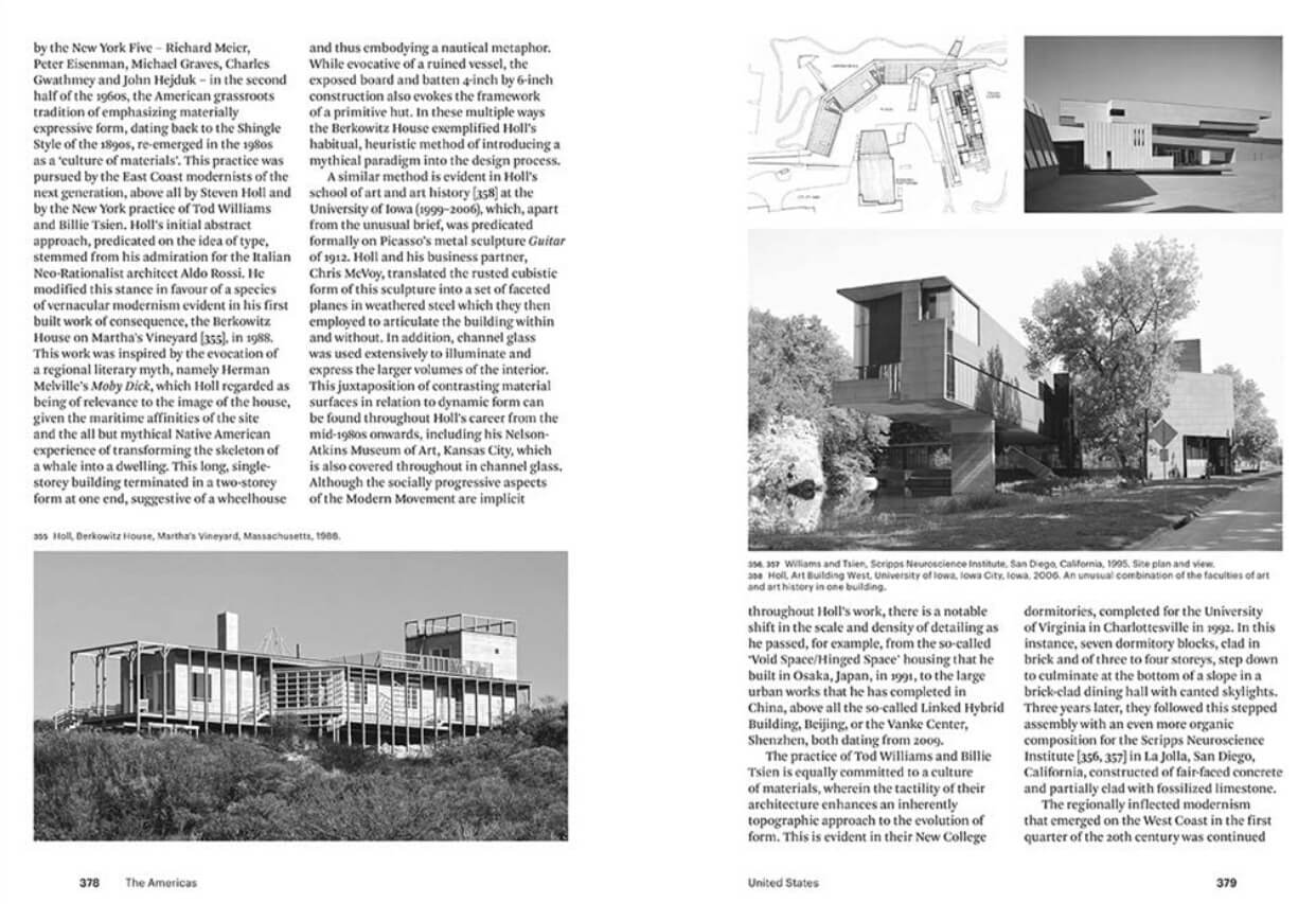 A glimpse of the chapter 'United States' | Modern Architecture: A Critical History by Kenneth Frampton | STIRworld