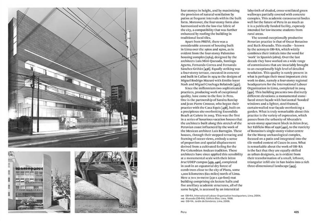 The chapter on 'Peru' | Modern Architecture: A Critical History by Kenneth Frampton | STIRworld