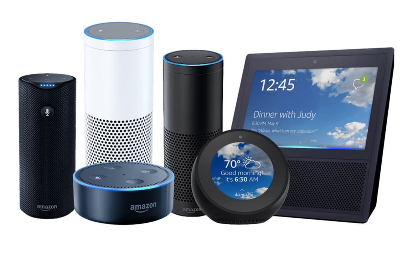The range of Amazon devices that help find information within seconds | Digital Legacies by Julius Wiedemann | STIRworld