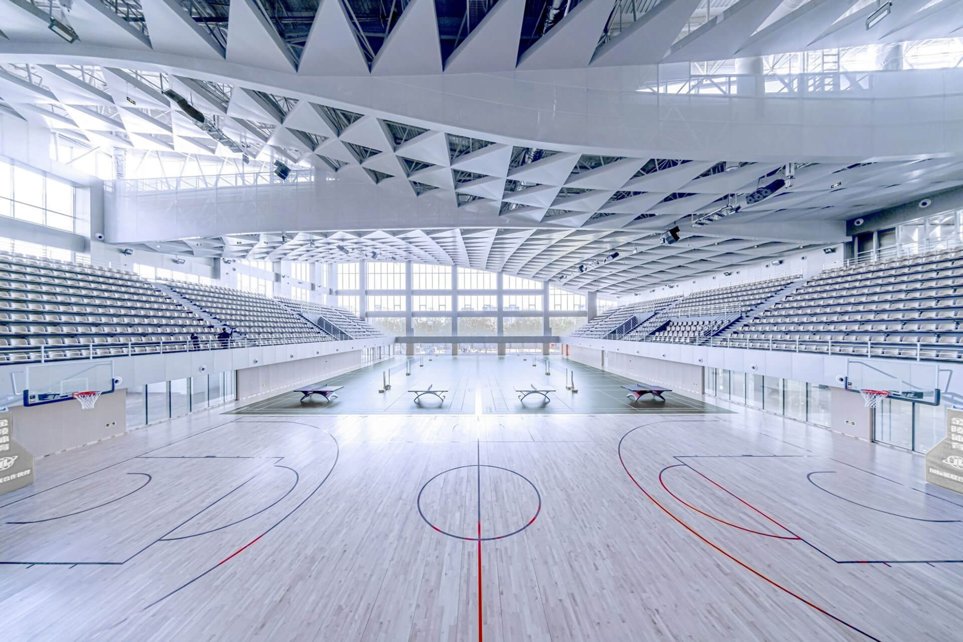 A look into the interiors of Beijing Institute of Technology Sports Center | Atelier Alter | Beijing | STIRworld