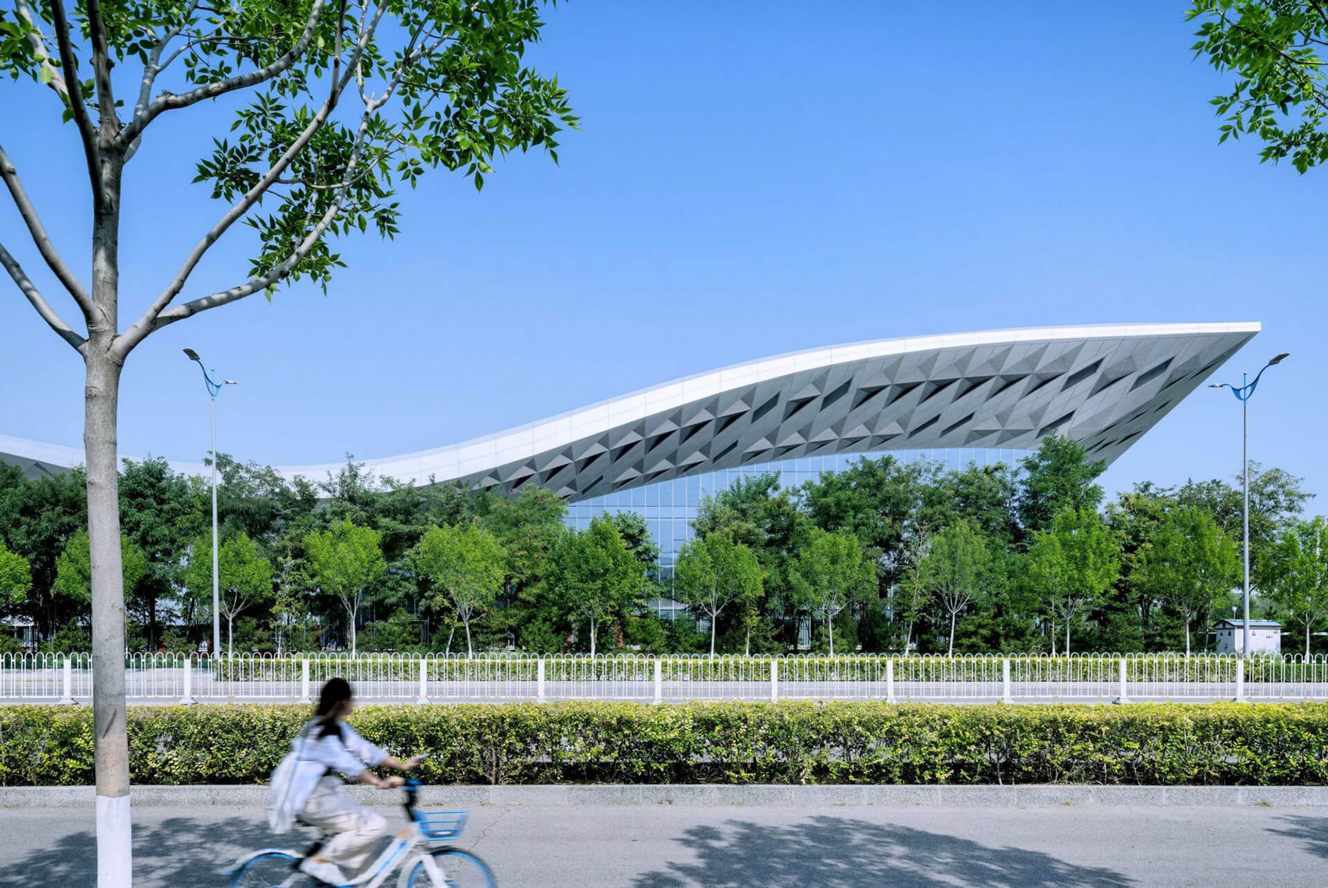 The Sports Center from afar | Atelier Alter | Beijing | STIRworld