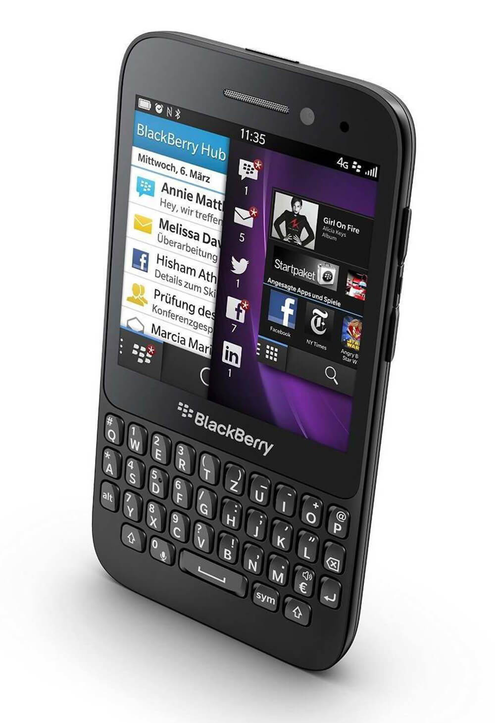 QWERTY keyboard design of BlackBerry | Digital Legacies: Fingers | Julius Wiedemann | STIRworld