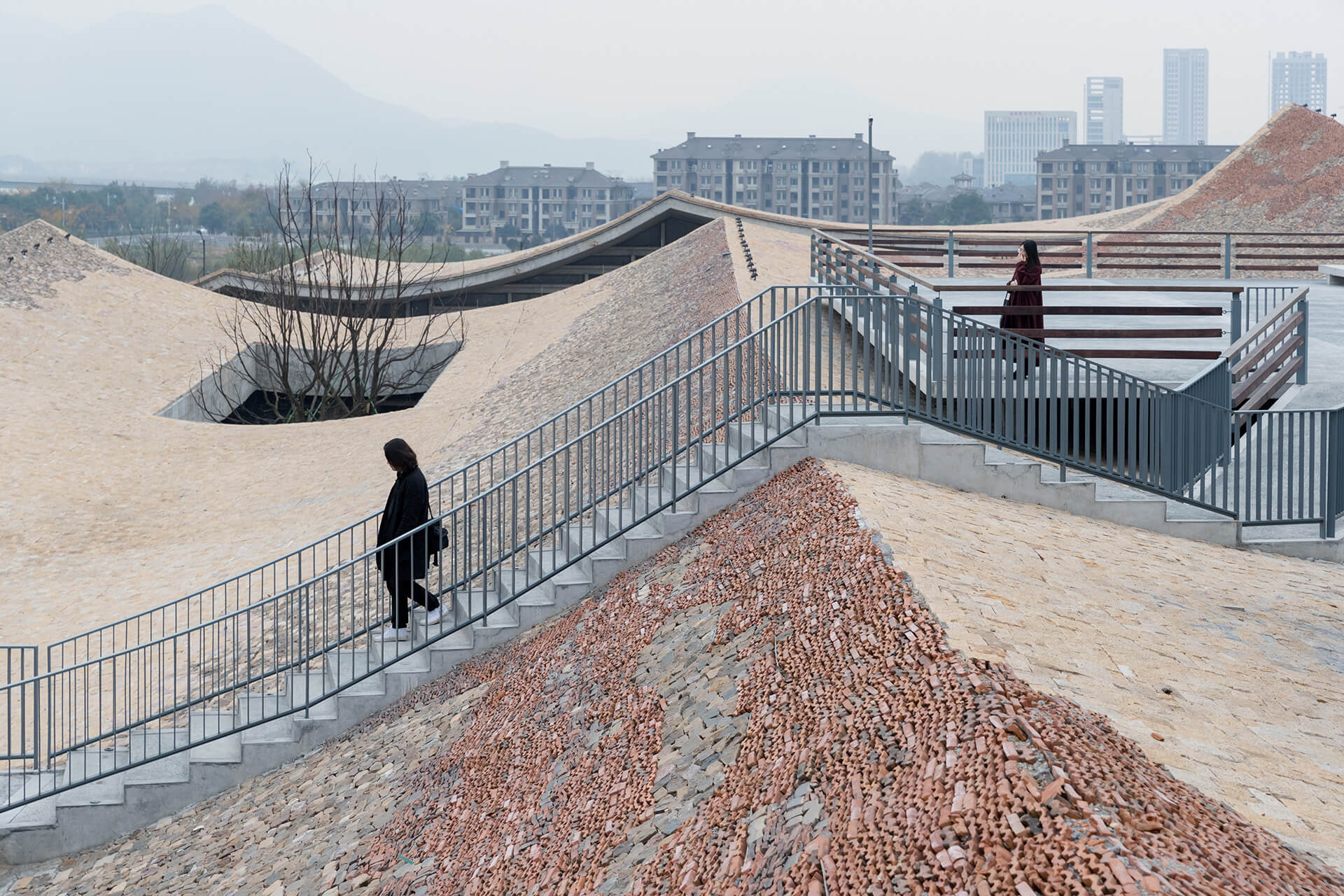 Fuyang Cultual Complex, Fuyang, Anhui province, 2017 | Vladimir Belogolovsky in conversation with architect WANG Shu | STIRworld