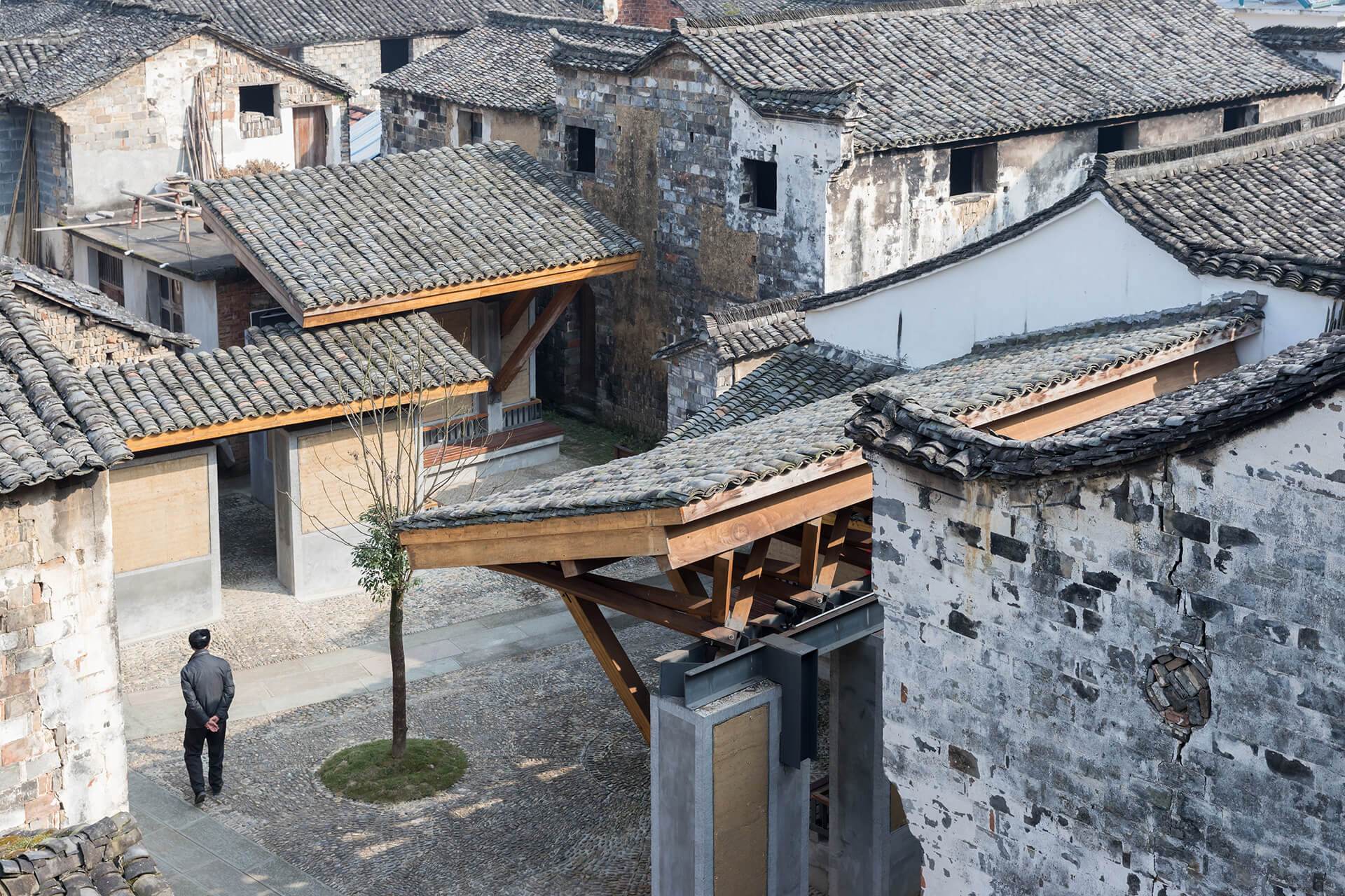 Wencun Village, Zhejiang province, 2012-16 | Vladimir Belogolovsky in conversation with architect WANG Shu | STIRworld