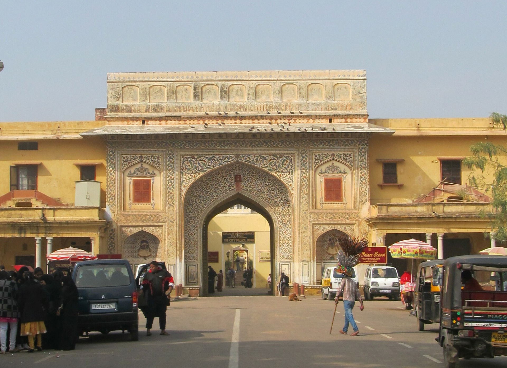The entrance to the City Palace complex| Jaipur | UNESCO World Heritage Site | STIR