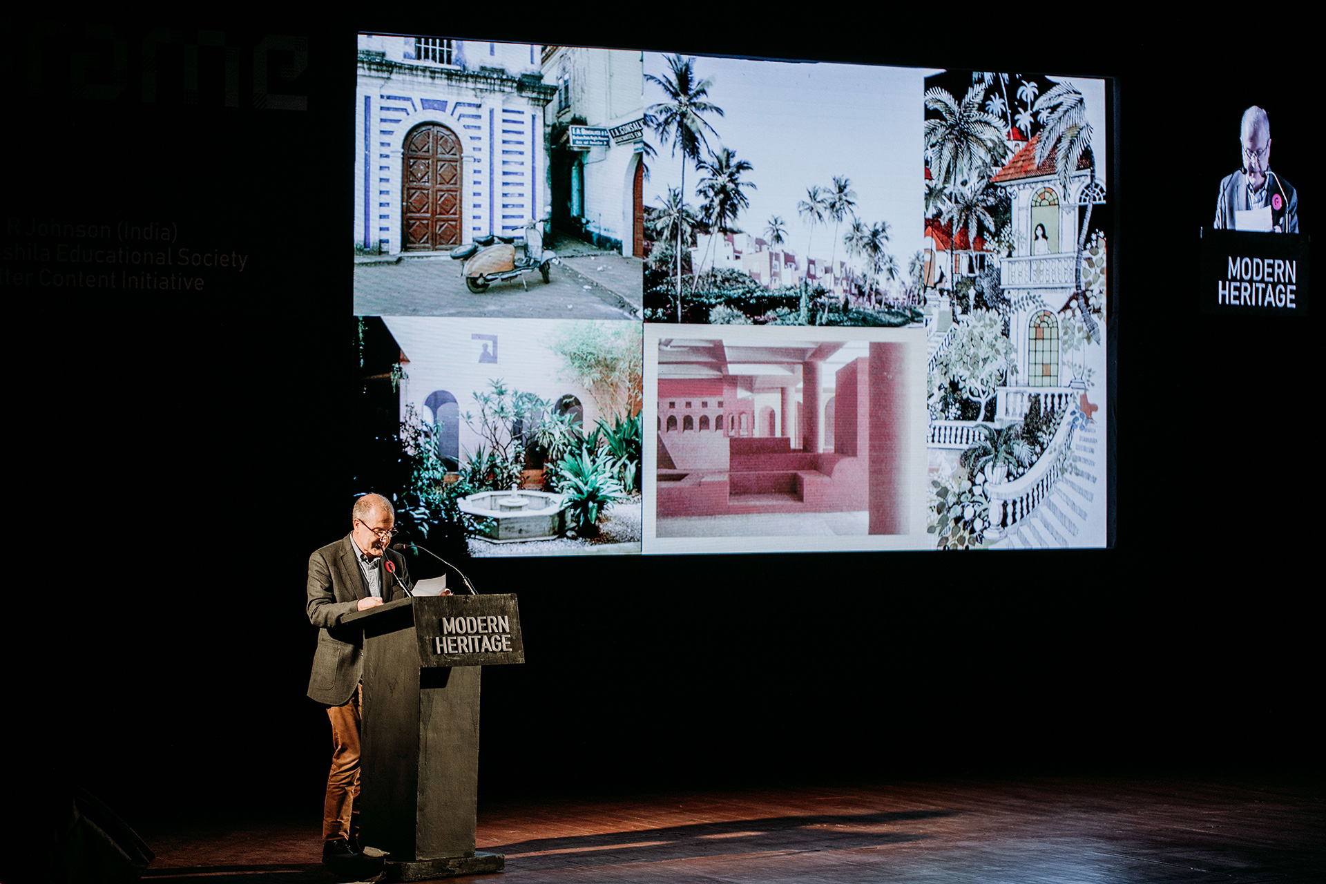 Peter Scriver on 'India: Modern Architectures in History' audience | Frame Conference | India | STIR