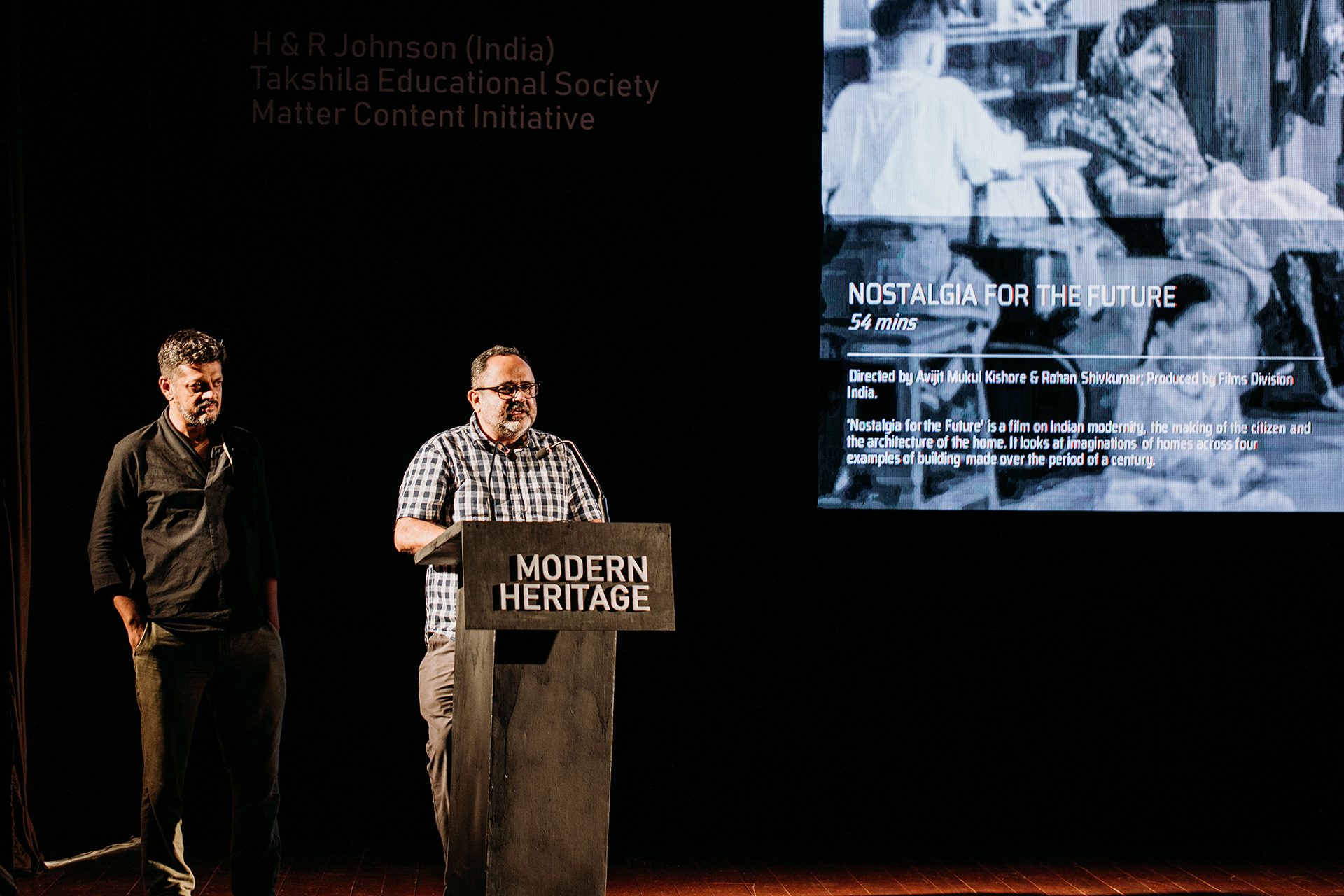Rohan Shivkumar and Avijit Mukul Kishore presenting their movies 'Nostalgia for the Future' and 'Lovely Villa' | Frame Conference | India | STIR