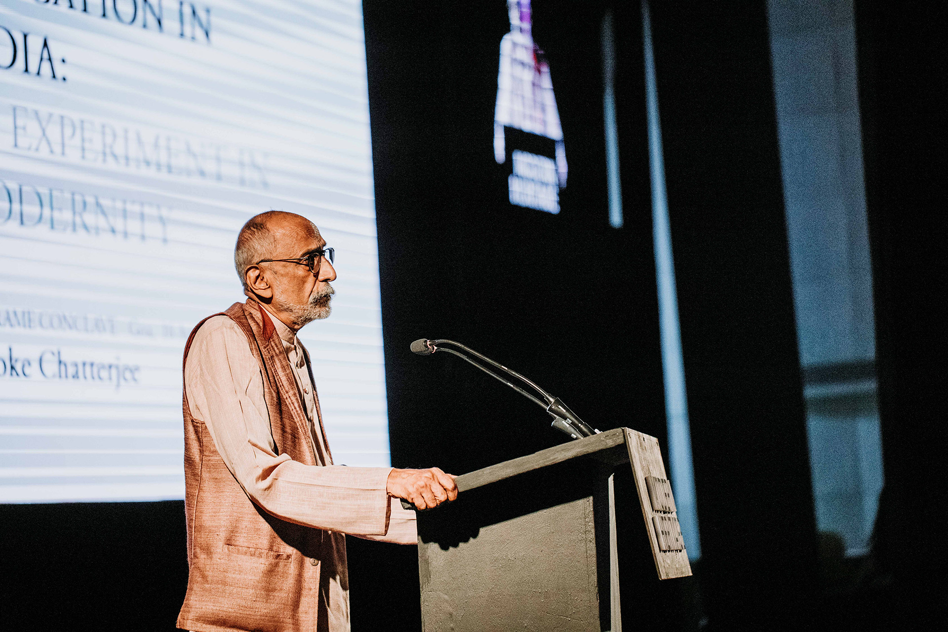 Ashoke Chatterjee on 'Design Education in India' | Frame Conference | India | STIR