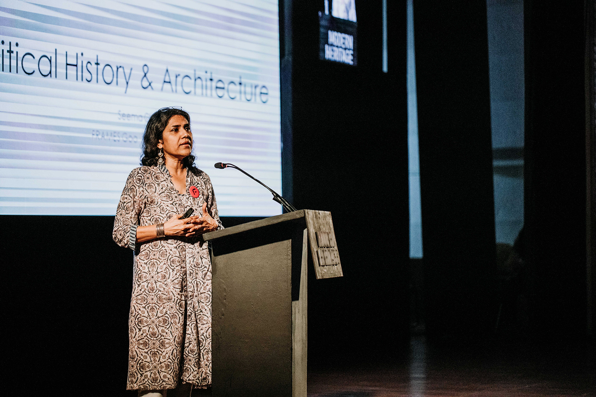 Seema Chishti on 'Political History and Modernity' | Frame Conference | India | STIR