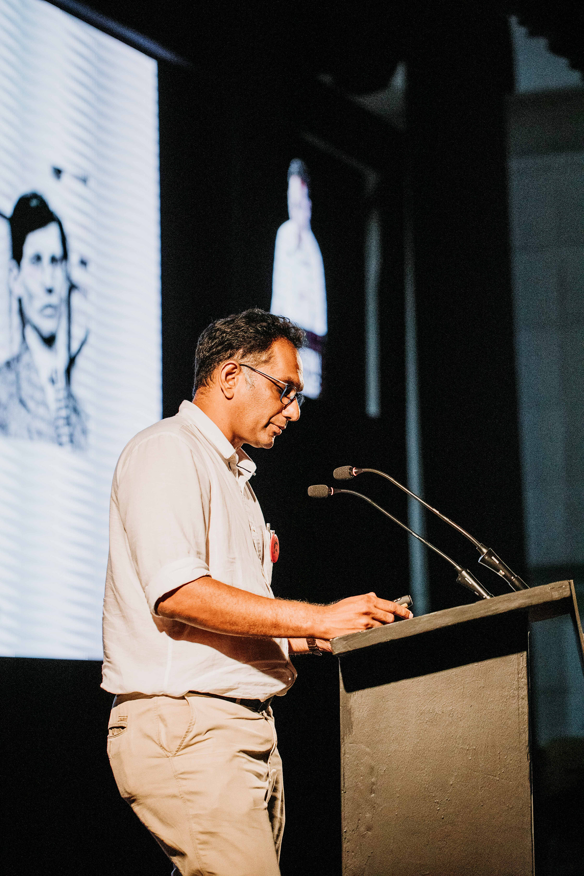 Riyaz Tayyibji on 'M.K. Gandhi and Le Corbusier: An Unlikely Dialogue' | Frame Conference | India | STIR