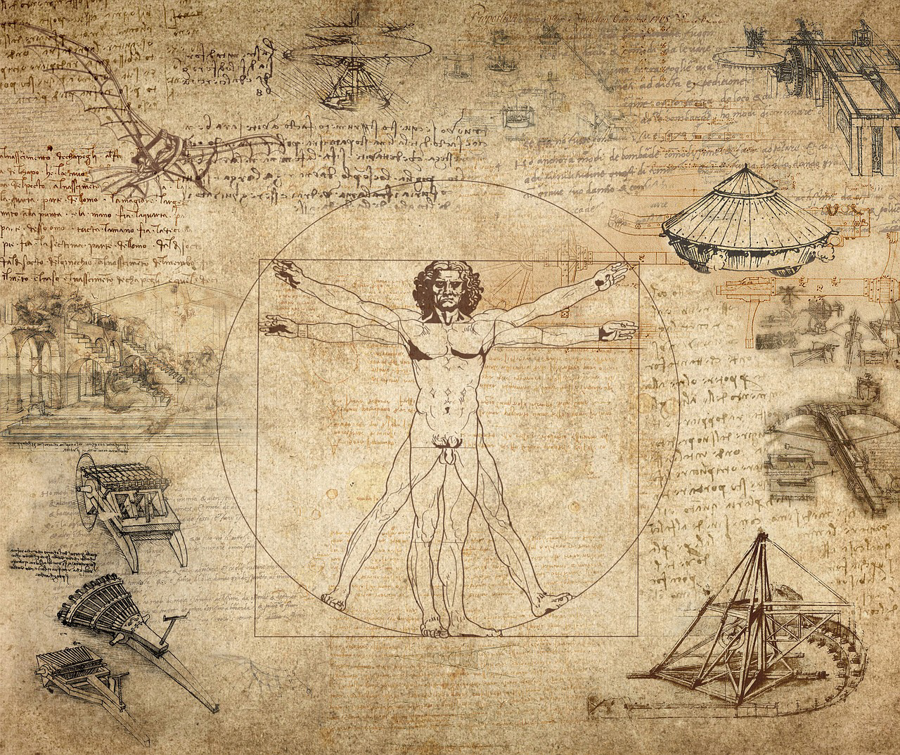 The Virtuvian Man by Leonardo da Vinci | Human within the Architect | Prem Chandavarkar | STIR