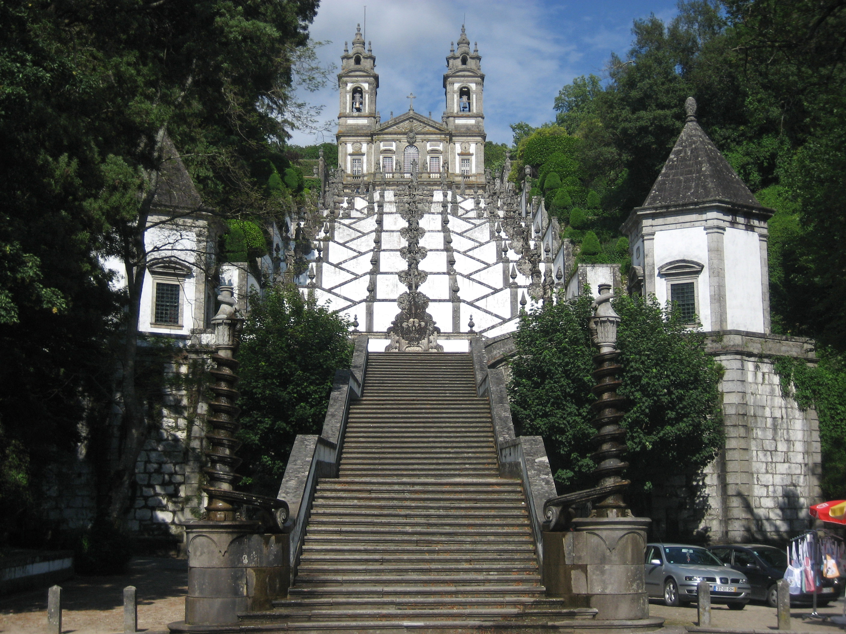 The Fountain of the Five Senses, Braga, Portugal | Human within the Architect | Prem Chandavarkar | STIR