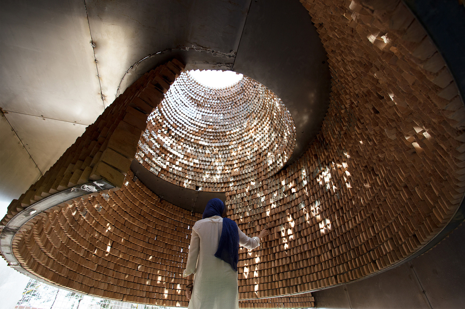 A design by Ashari Architects for an architectural installation in Iran – The Pause | Human within the Architect | Prem Chandavarkar | STIR