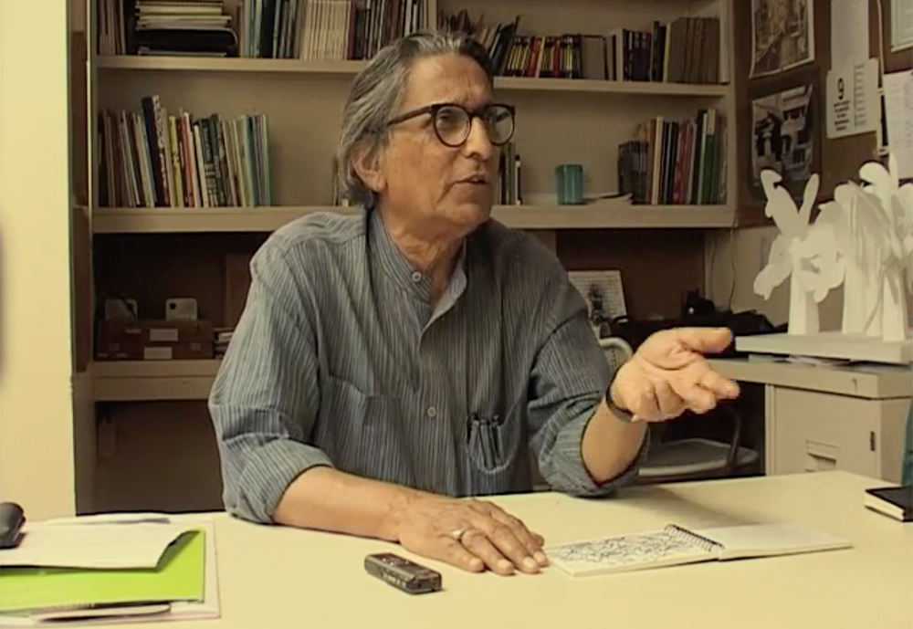 'Doshi- Chapter 2 – I am not an architect, for me it's a search'| BV Doshi | Bijoy Ramachandran| STIR