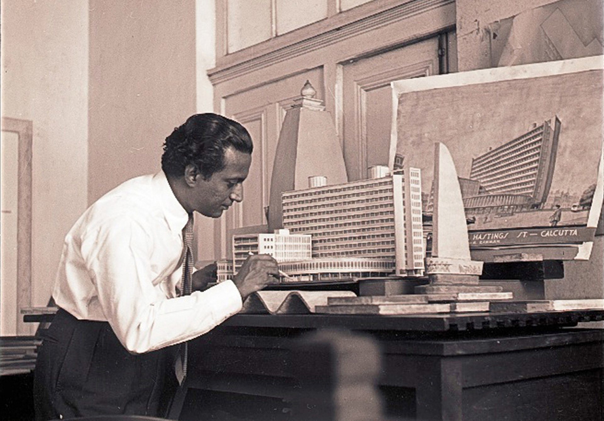Late Indian architect Habib Rahman at work | Peter Scriver | Frame conclave| STIR