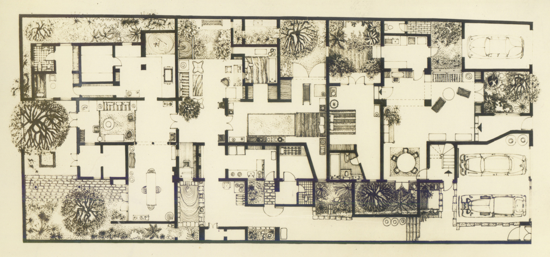 Plan of Bawa's house at 33rd Lane | Geoffrey Bawa | David Robson | STIR