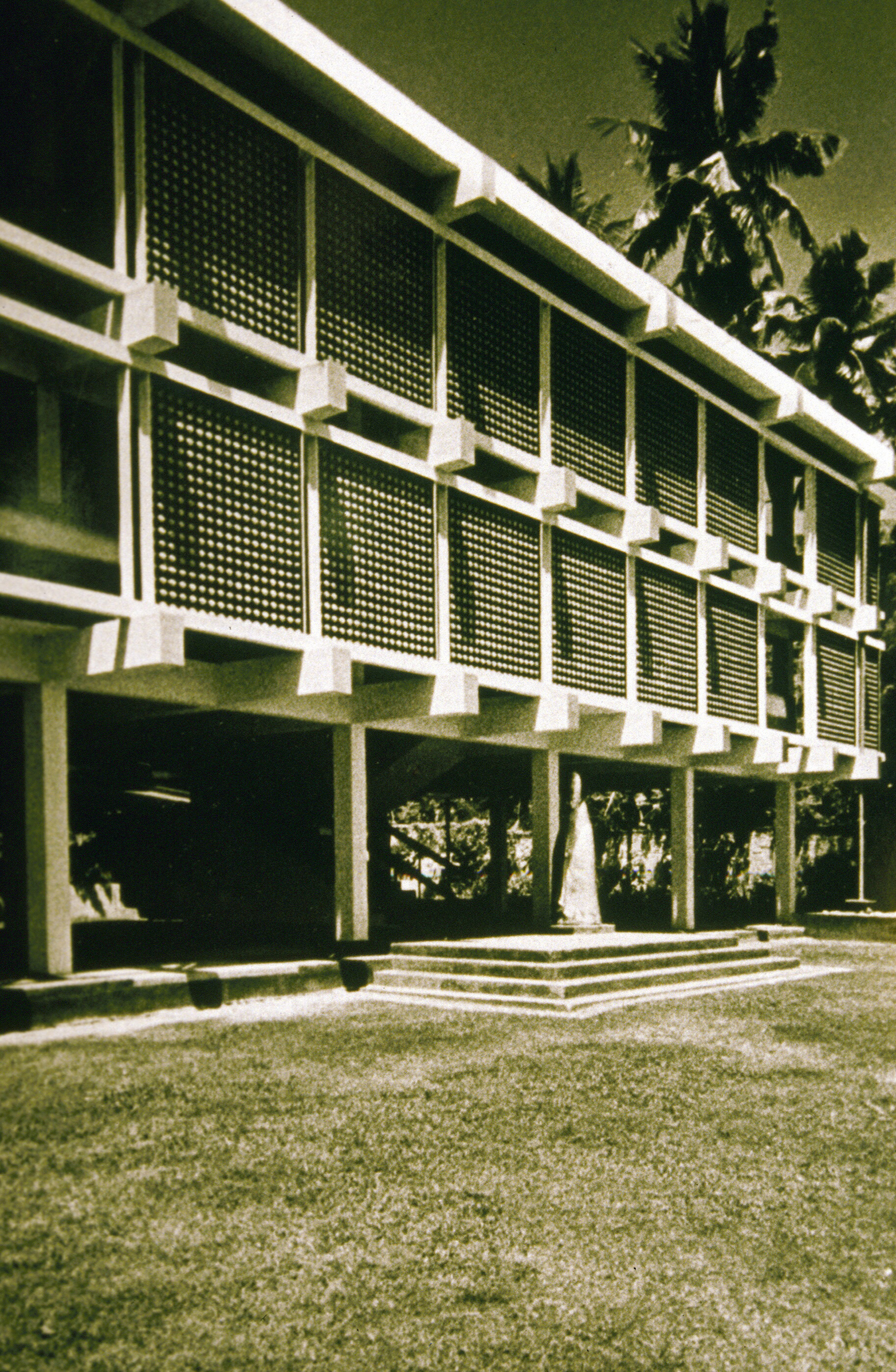 Classrooms at Bishop's College, 1959 | Geoffrey Bawa | David Robson | STIR