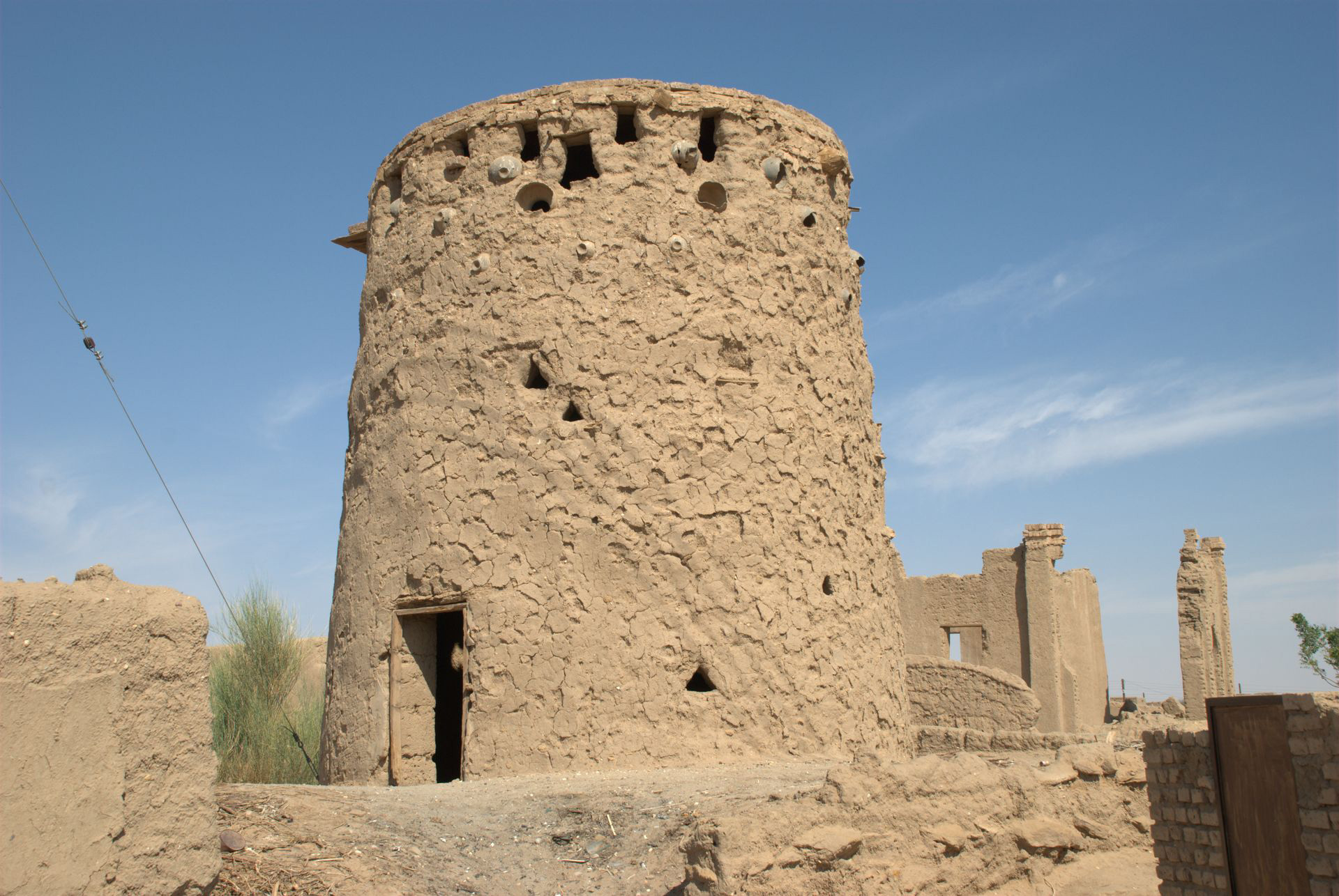 Pigeon towers - Fertiliser plants, Sudan | Shirish Beri | STIR
