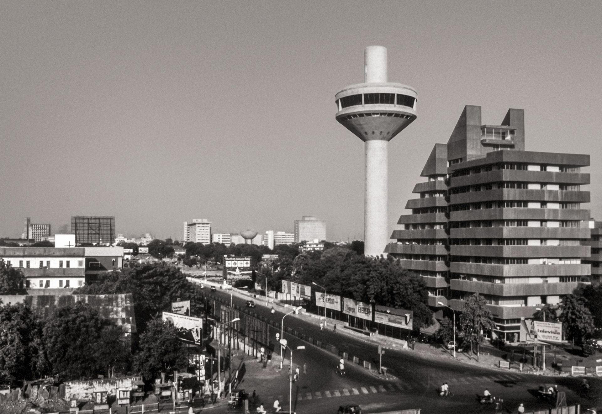Chinubhai Centre and Patang Hotel, Ahmedabad, 1980 | Hasmukh Patel Architecture Style | Bimal Patel  | STIR