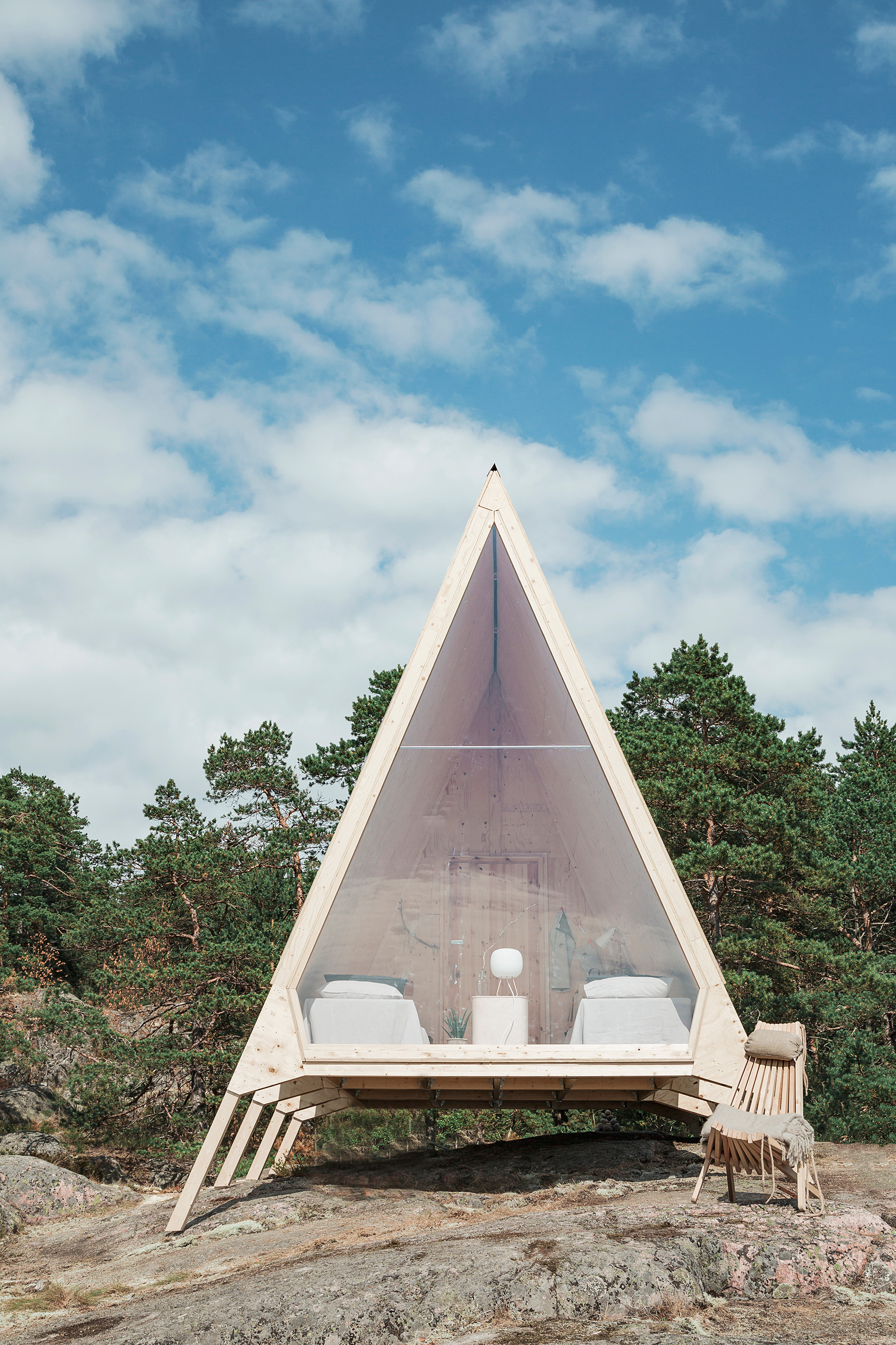 Nolla Cabin by Finnish company Neste, designed by Robin Falck | Diversity in living, a changing lifestyle| STIRworld