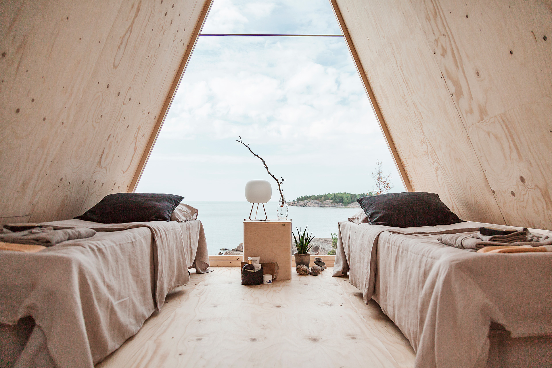 Nolla Cabin is an experiment that explores how to live with minimal footprint, and can be booked on Airbnb | Diversity in living, a changing lifestyle| STIRworld