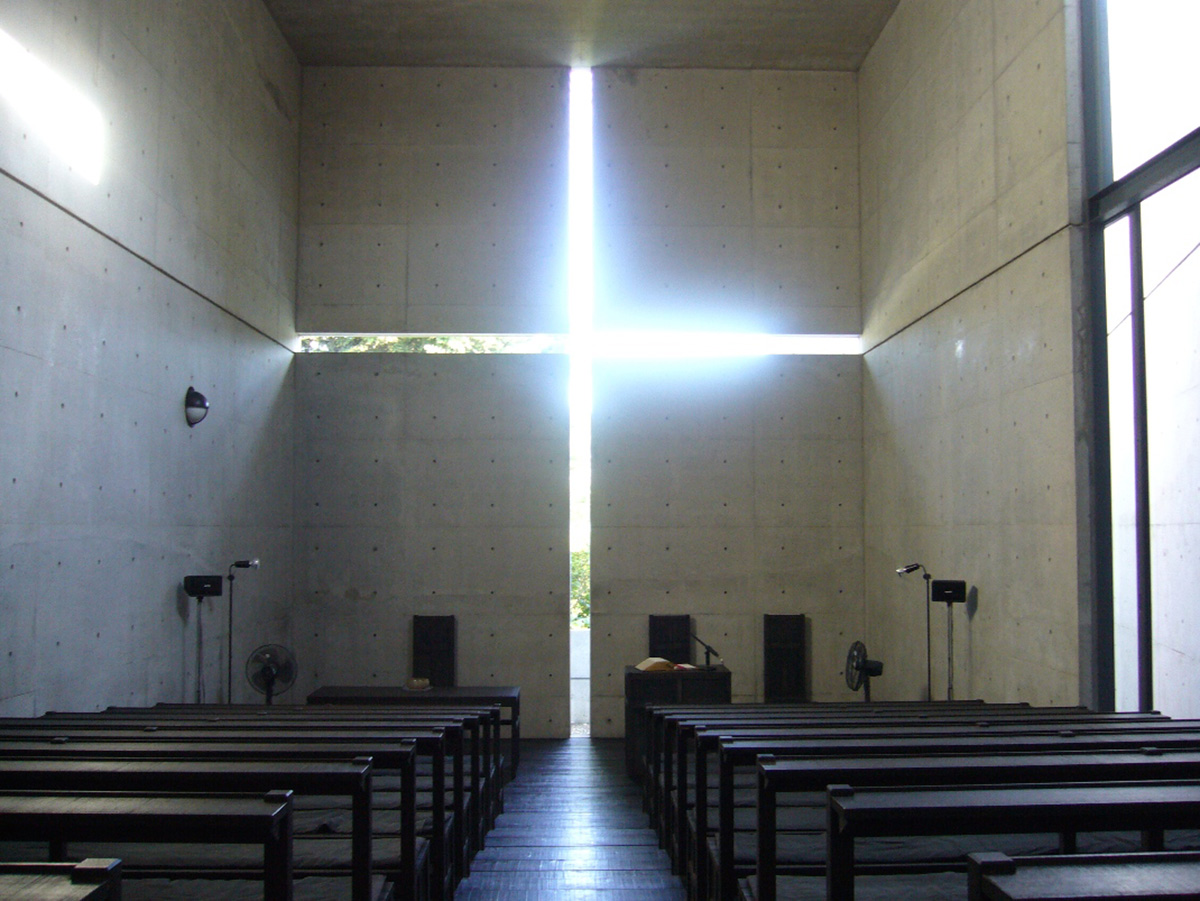 Incorporation of natural light in Ibaraki Kasugaoka Church (Church of the Light), Japan | From Attention to Awareness | Dhruvajyoti Ghose| STIRworld
