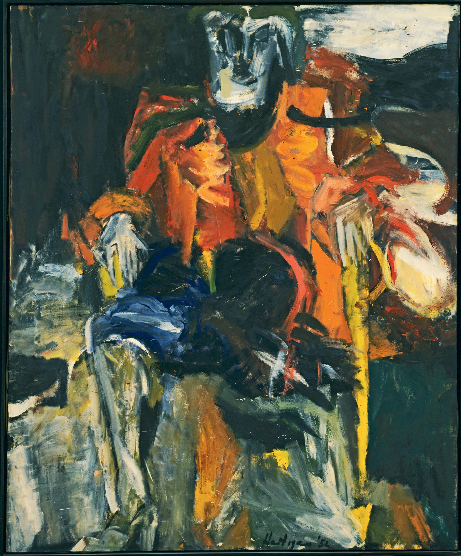 Grace Hartigan, The Persian Jacket, 1952; oil on canvas, 57½ by 48 inches | Ninth Street Women | Five Painters and the Movement That Changed Modern Art | Little, Brown and Company | Mary Gabriel | STIRworld