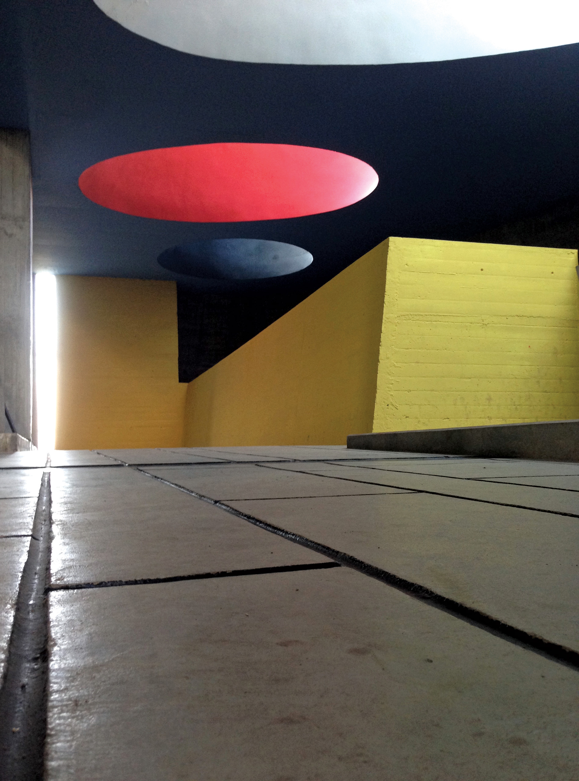 Sainte Marie De La Tourette by Le Corbusier uses minimal light, controlled views and strong colours | Light Filters Feelings | Sourabh Gupta | STIRworld