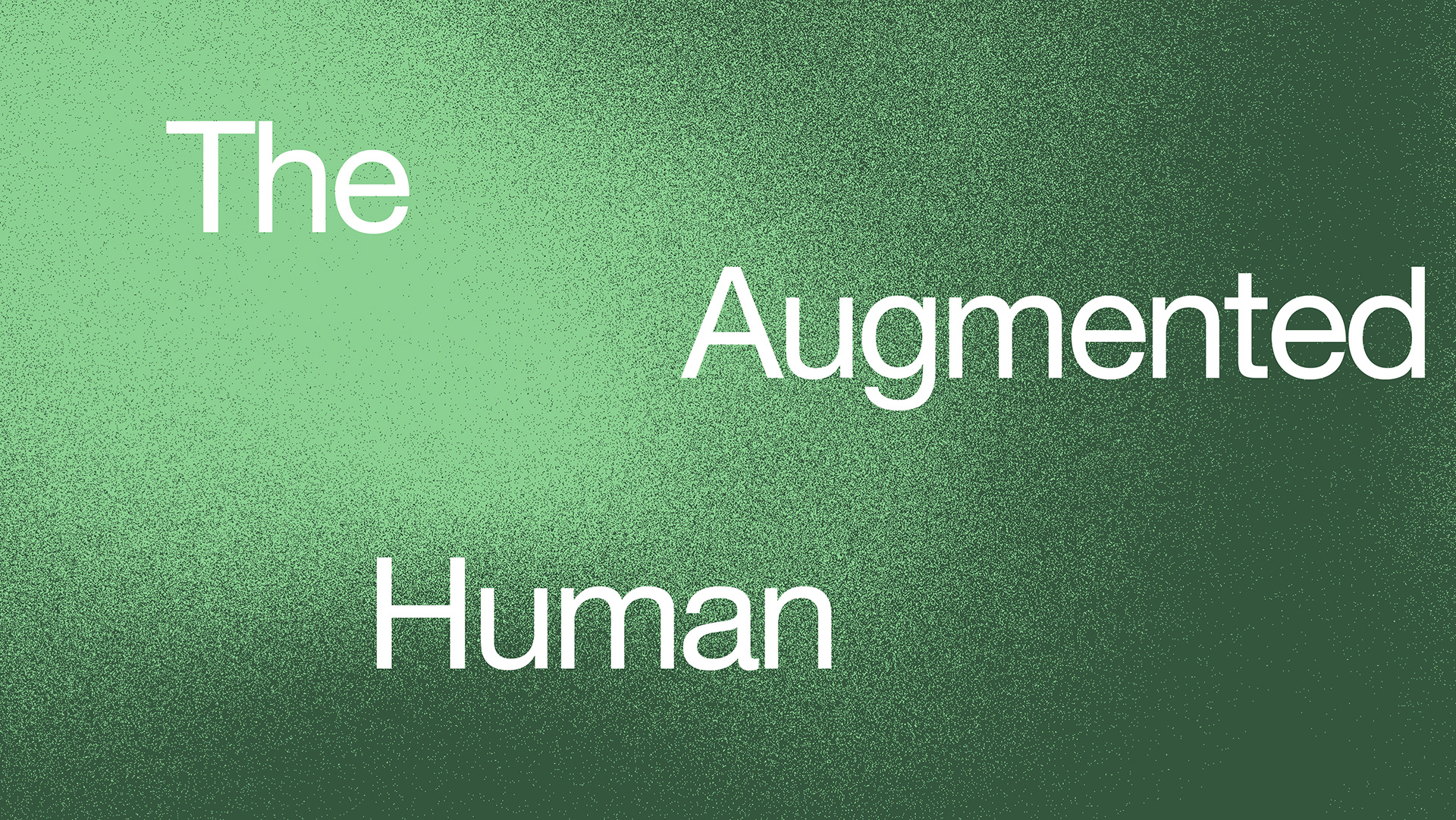 The Augmented Human, Print Cover | The Augmented Human | Space10 | STIRworld