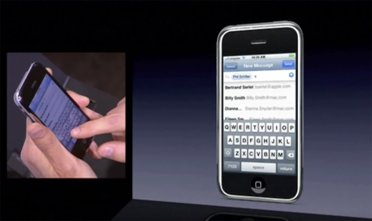 Steve Jobs iPhone Presentation, 2007 | The Augmented Human | Space10 | STIRworld