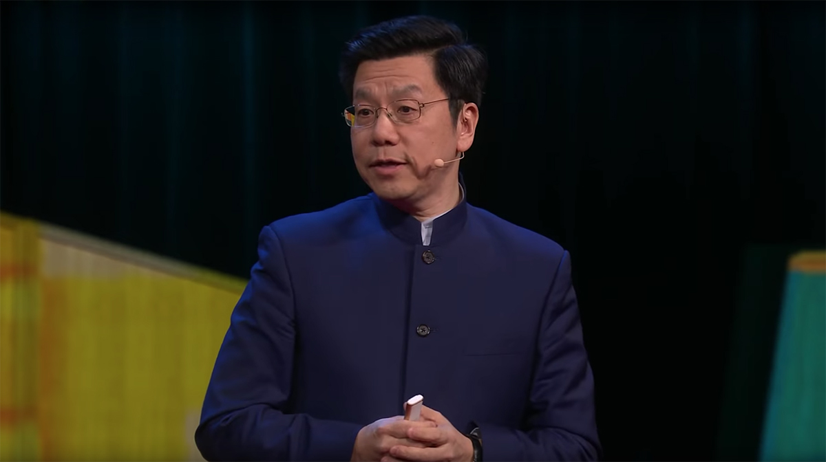 Taiwanese AI expert and former Apple and Google executive Kai-Fu Lee presenting an optimistic view of AI's potential for the future | The Augmented Human | Space10 | STIRworld