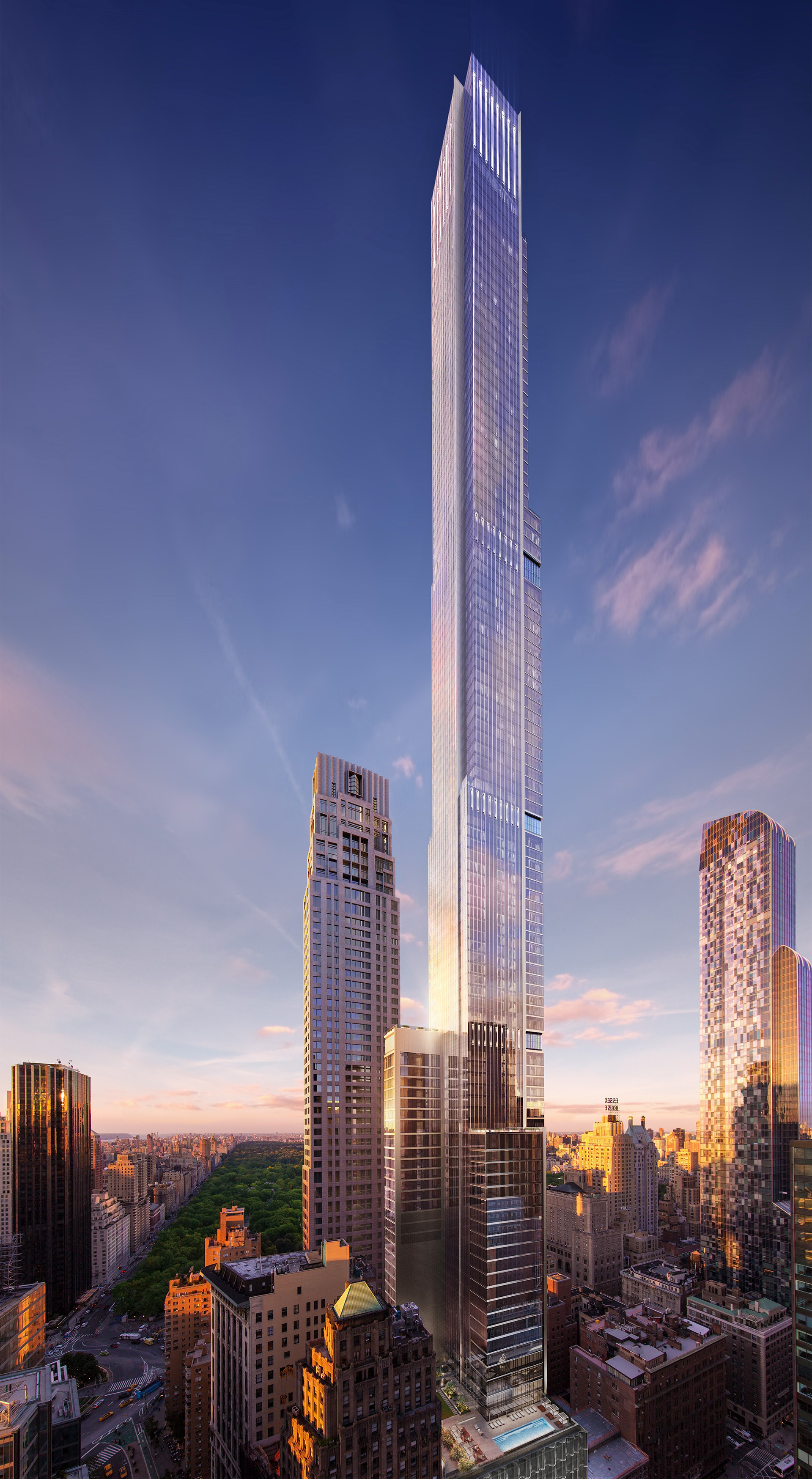 Central Park Tower is a mixed-use supertall skyscraper | Adrian Smith | Gordon Gill | STIRworld