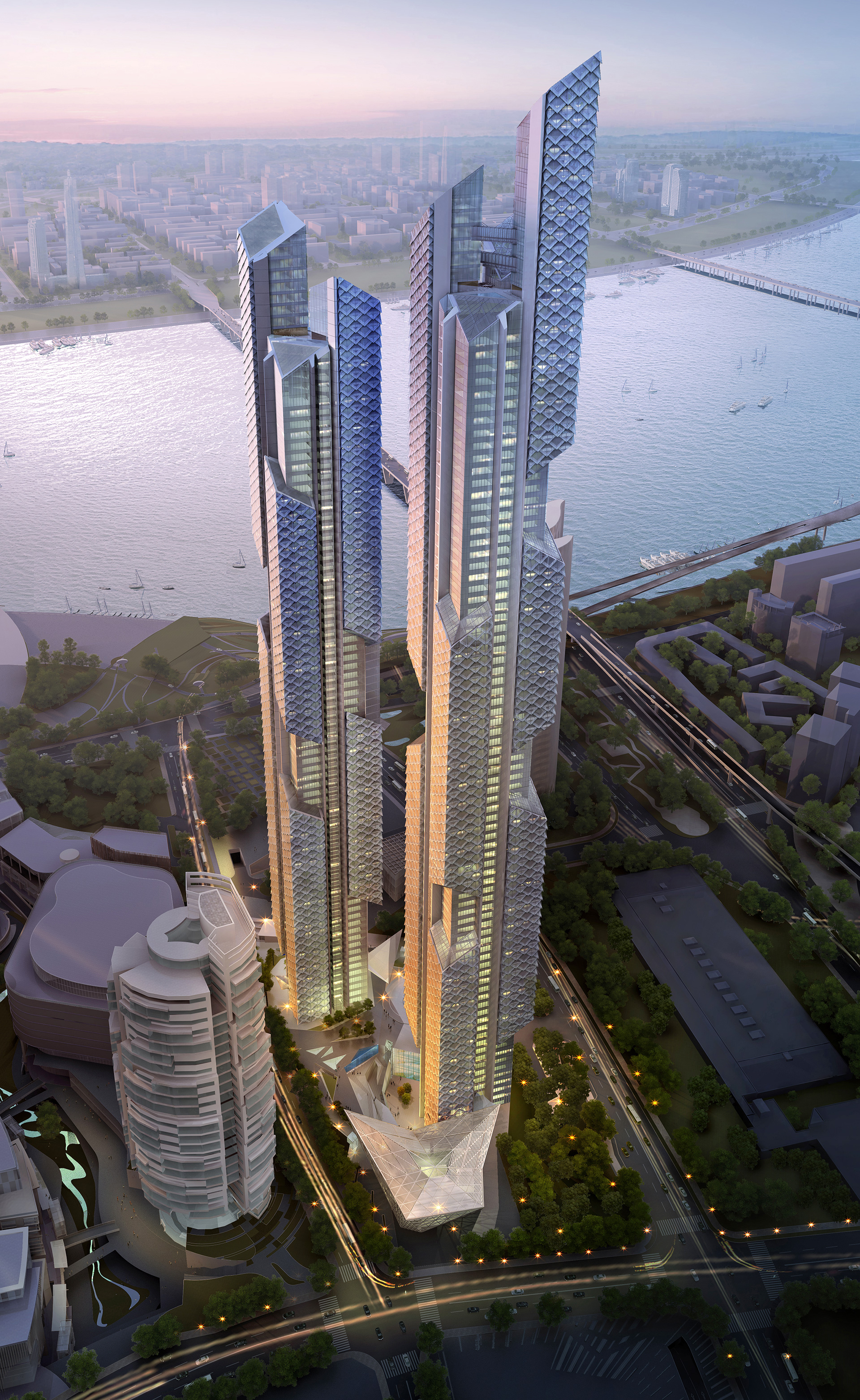 Adrian Smith and Gordon Gill on skyscraper architecture and  energy-efficient buildings