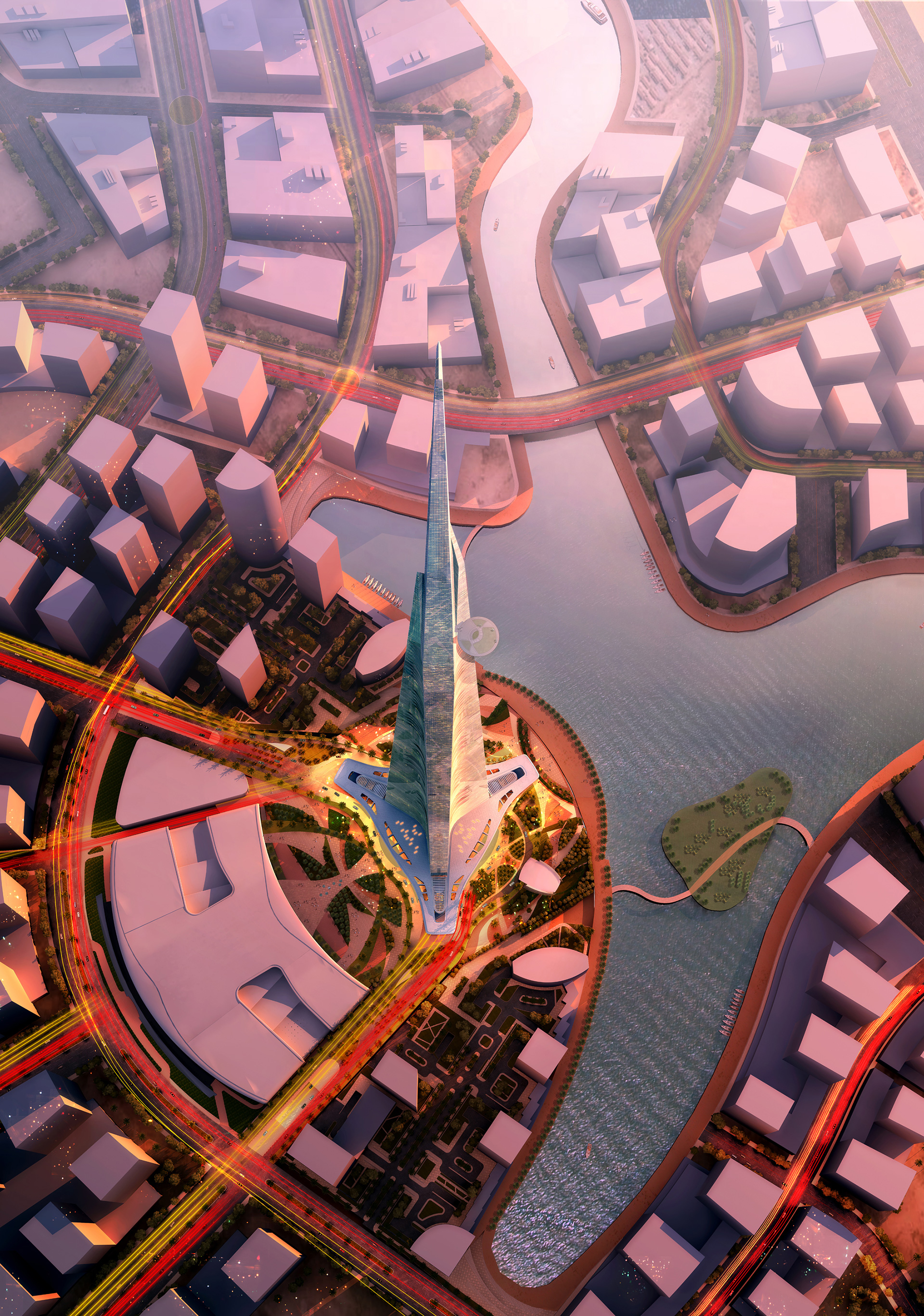 Jeddah Tower designed by Adrian Smith and Gordon Gill as the design architects of the project and Adrian Smith + Gordon Gill Architecture the design firm | Adrian Smith | Gordon Gill | STIRworld