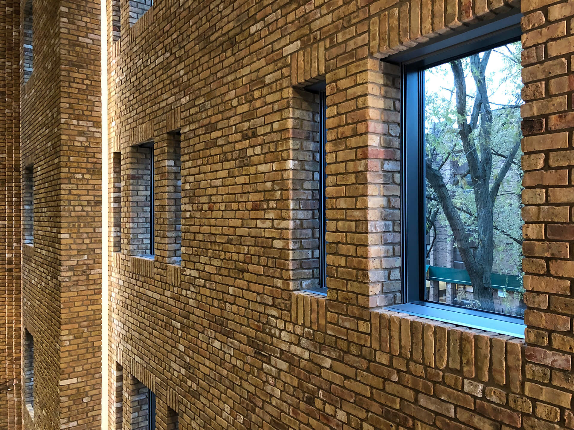 Tadao Ando transformed the building using more brickwork along with concrete surfaces | Wrightwood 659 | Tadao Ando | STIRworld