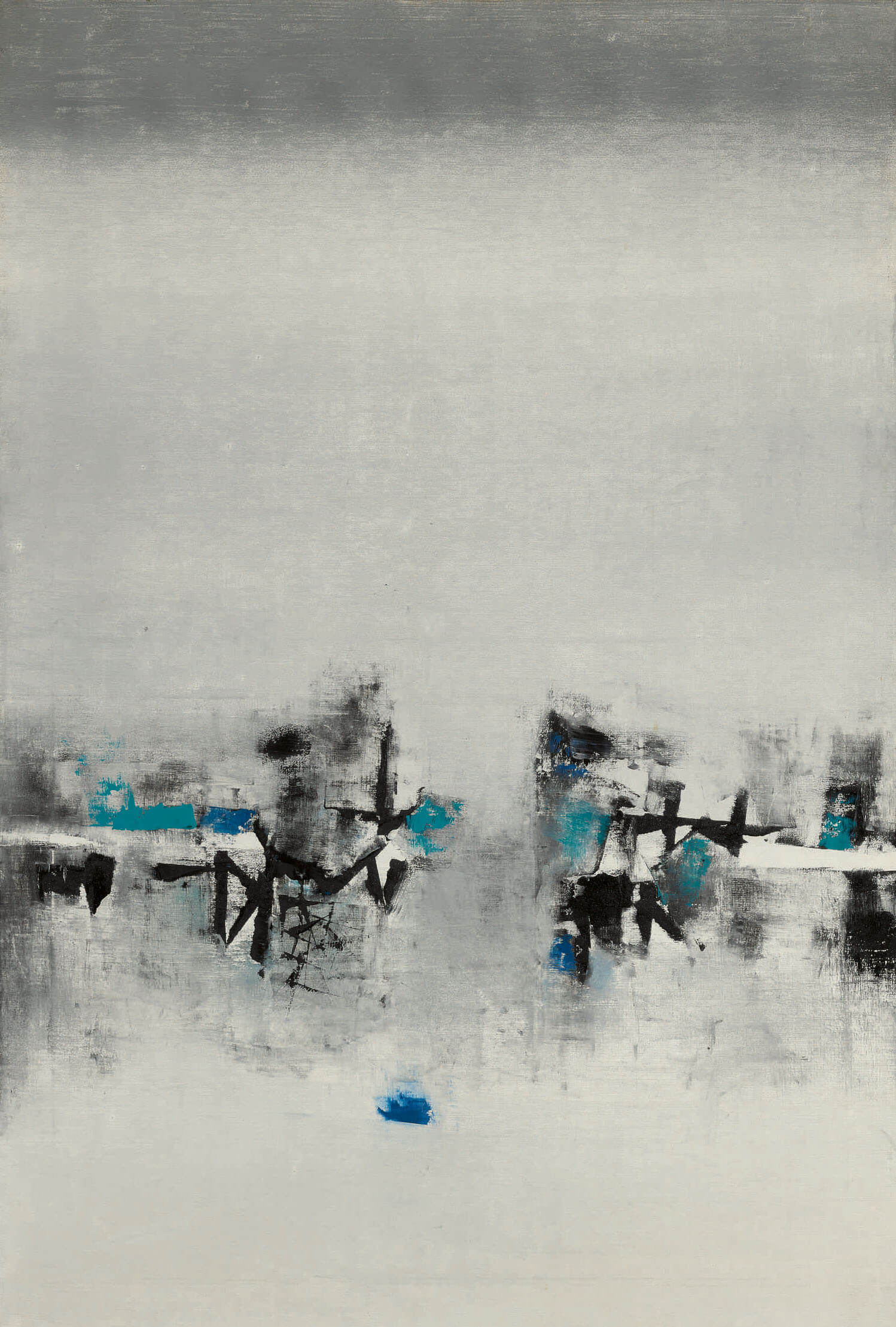 Lot 12, Vasudeo S Gaitonde, Untitled | Sotheby's | V S Gaitonde | STIRworld