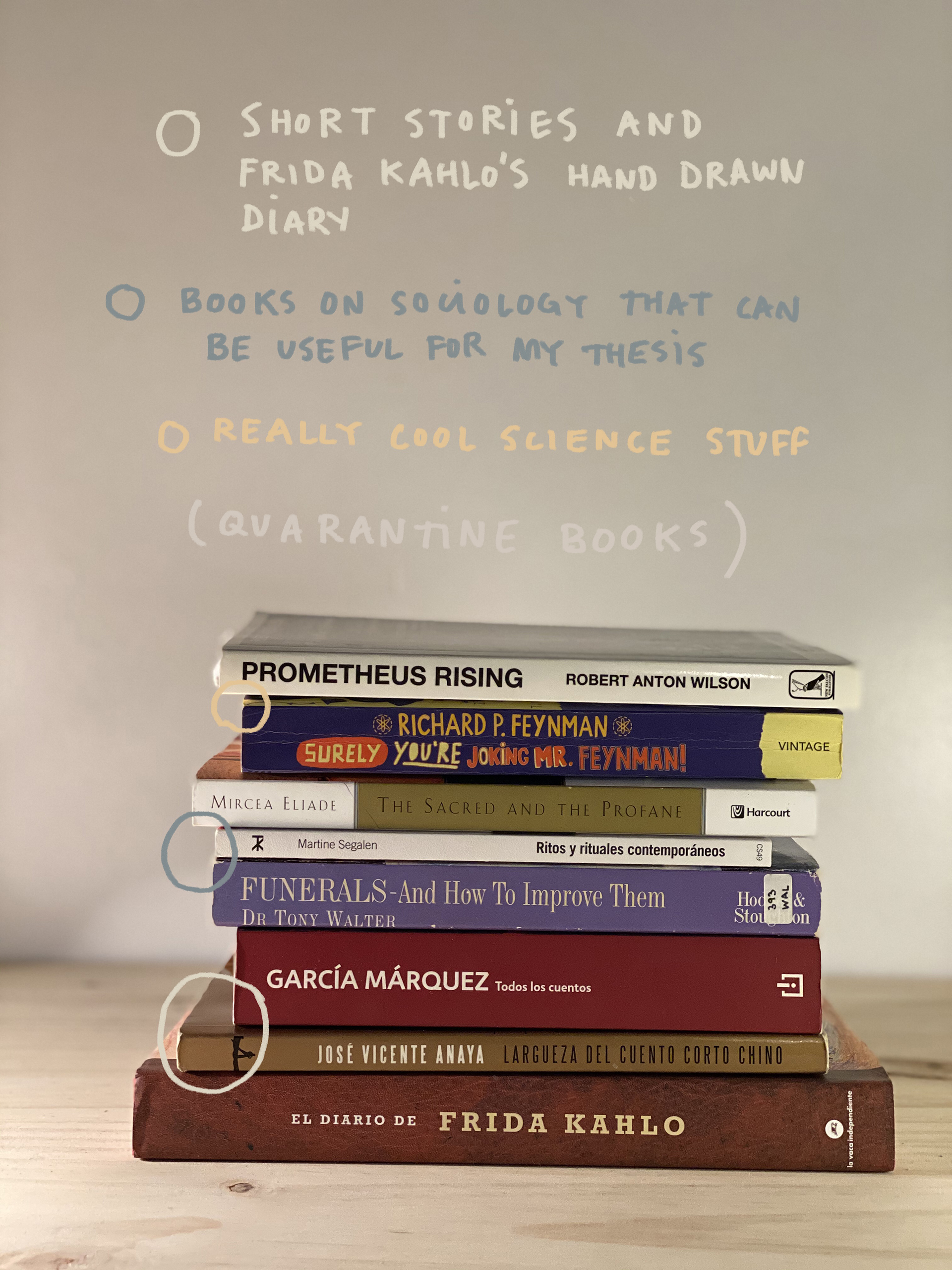 Books Mendaro has recently read and some that she is planning to read during the quarantine |What Am I Reading | Pia Mendaro | STIRworld
