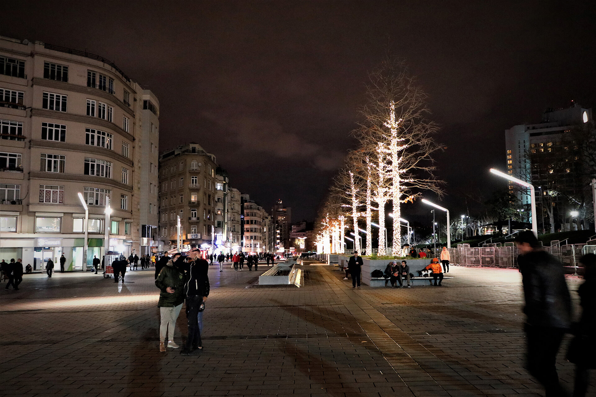 Taksim Square, Istanbul, in more festive times | Maidan or Town Square | STIRworld