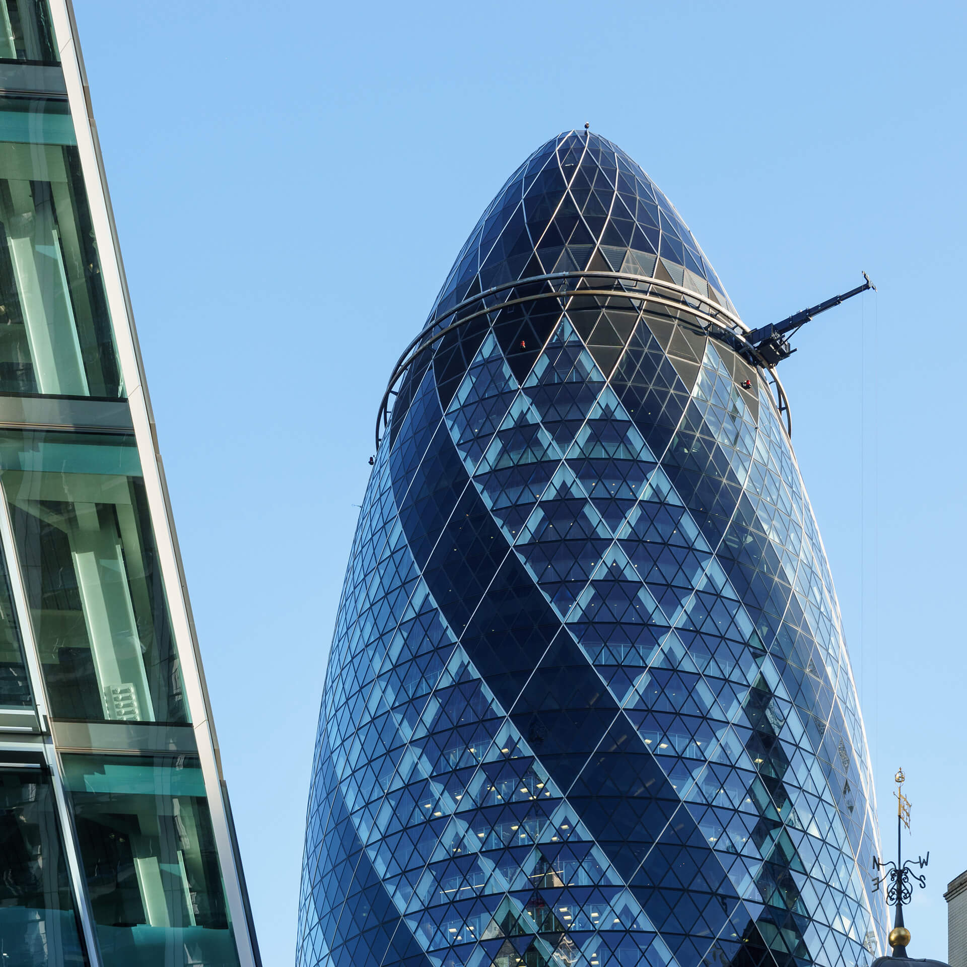 The Gherkin (30 St Mary Axe) in London designed by Norman Foster | Supreme Court ruling on Architects Act | STIRworld