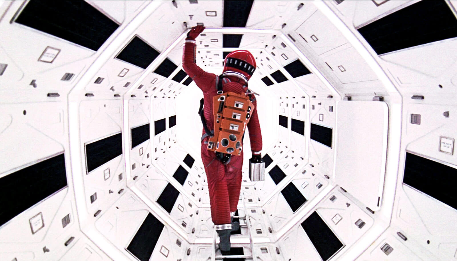 Keir Dullea in 2001: A Space Odyssey | Space Odyssey exhibition | Stanley Kubrick | STIRworld